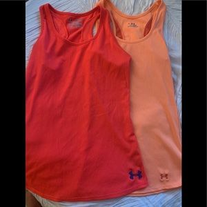 Two Under Armour Workout Tank Tops